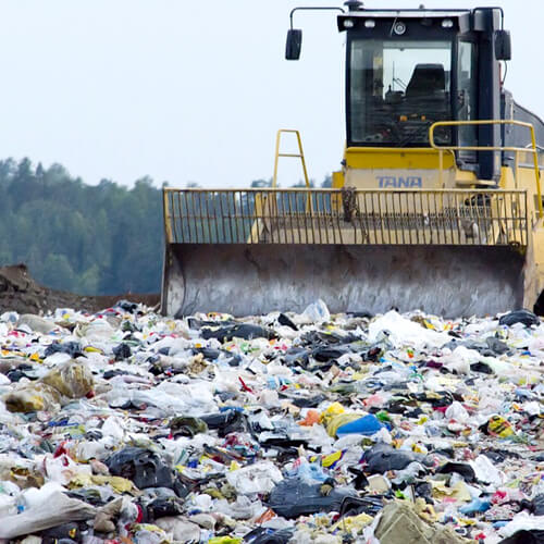 Landfill tax receipts fall for first time in 2009/10