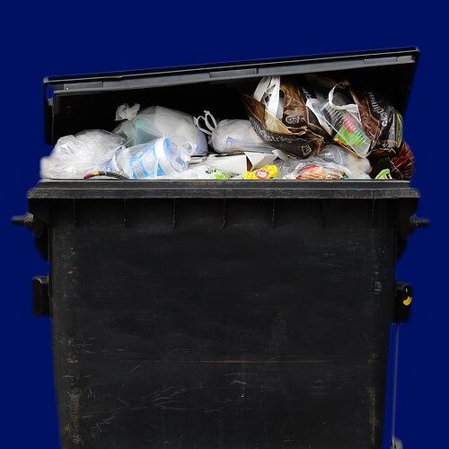 waste bin landfill