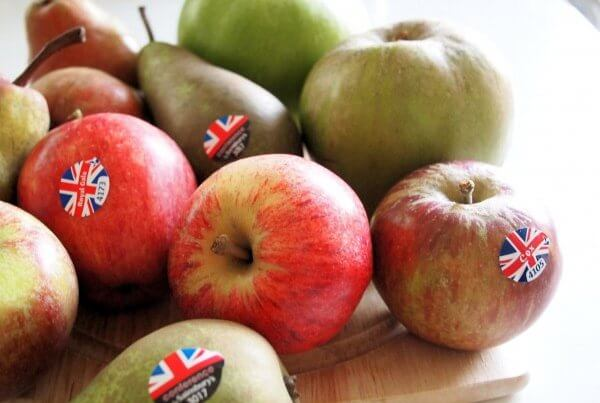 English apples & pears