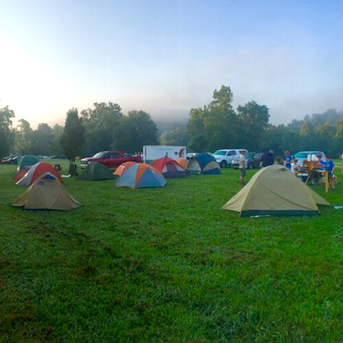 Police warn campers after spate of thefts from tents