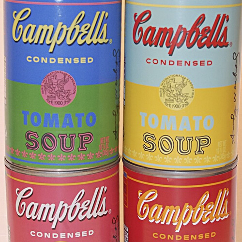 Soup-er design for Campbell's anniversary