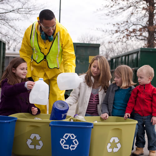 Recycling set to grow through 2011