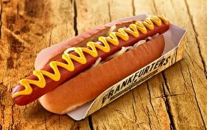 Westlers hot dog