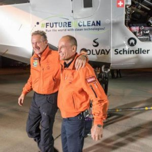 solar powered flight