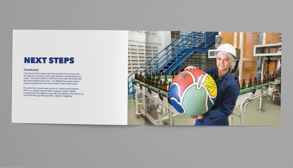 A4 Landscape Brochure Mock-up Version 2