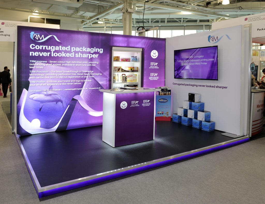 TRM Stand At A Conference