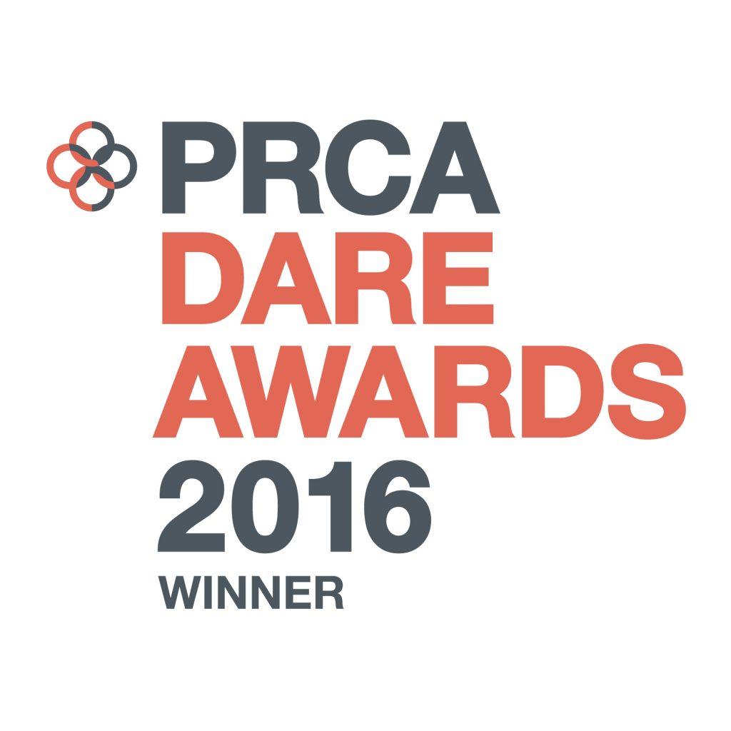 PRCA Dare Awards 2016 Winner Logo