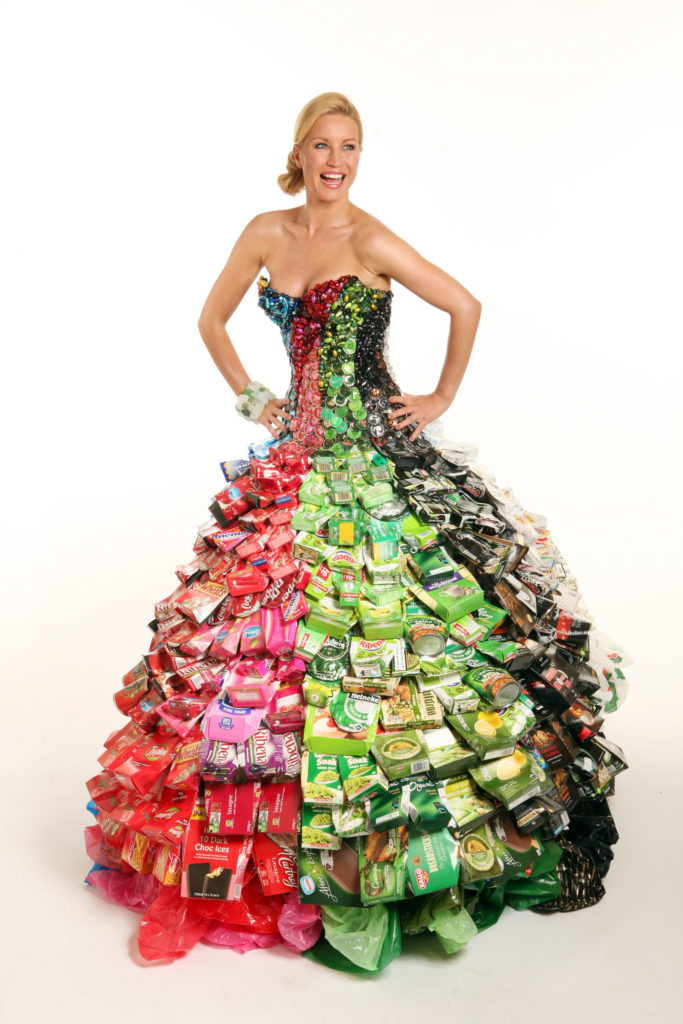 Denise In Recycled Material Dress