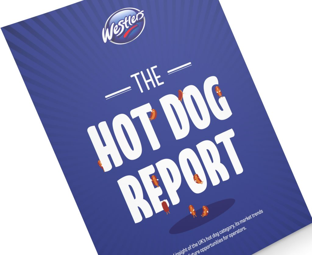 Westlers The Hot Dog Report Mock-up