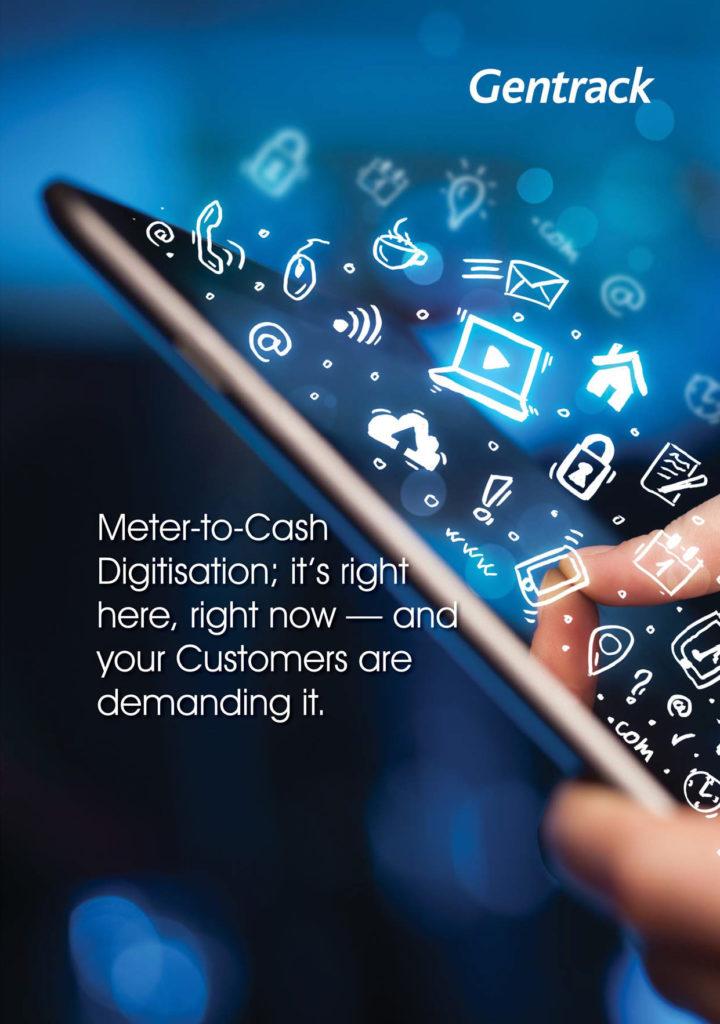 Gentrack Meter To Cash Digitisation Banner