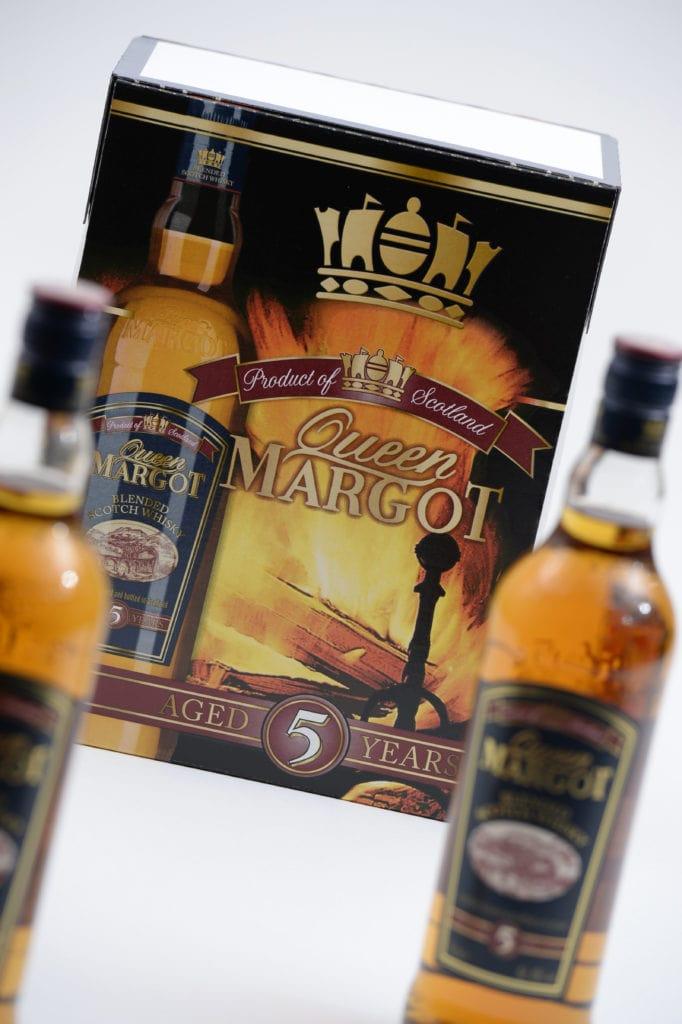 Queen Margot Whiskey Bottles