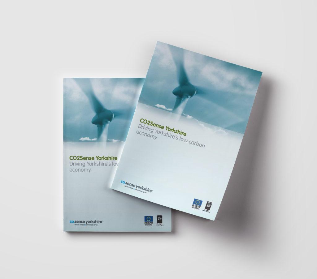 CO2 Sense Yorkshire Brochure Mock-up