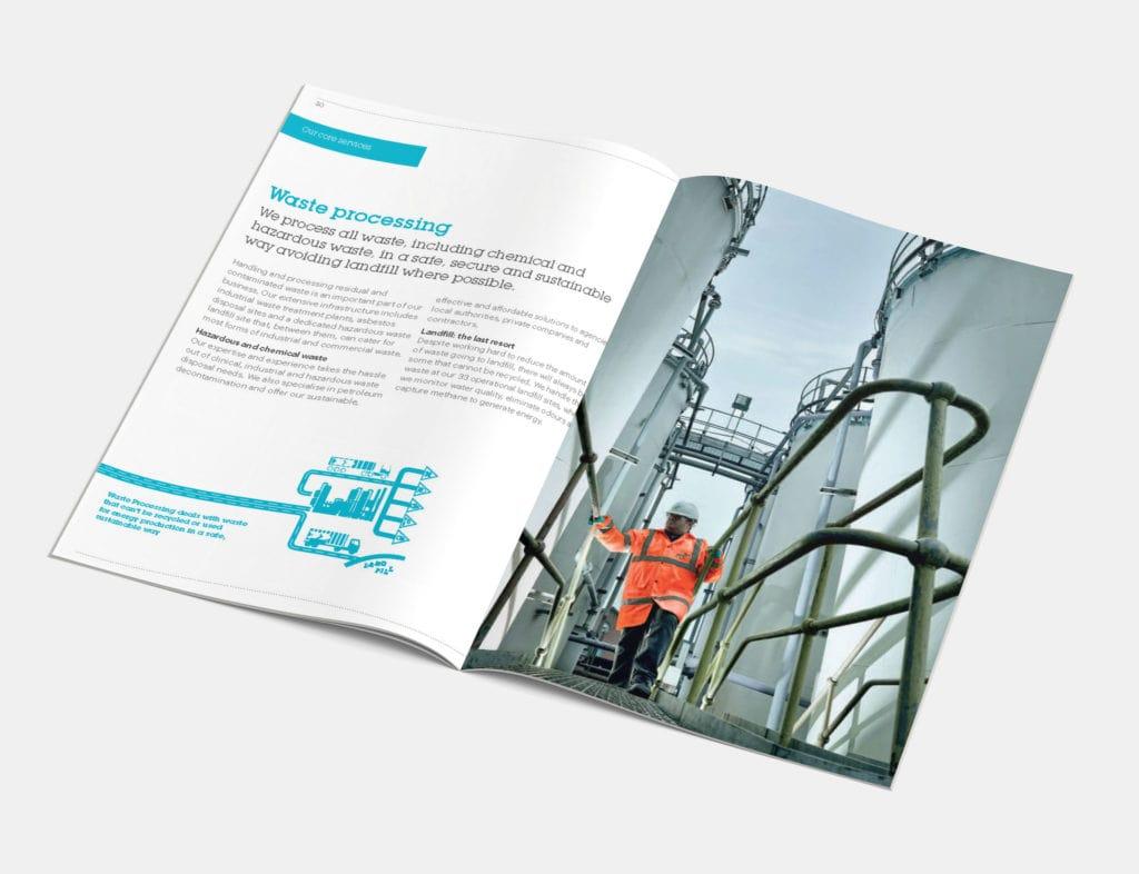 Waste Processing Brochure Mock-up