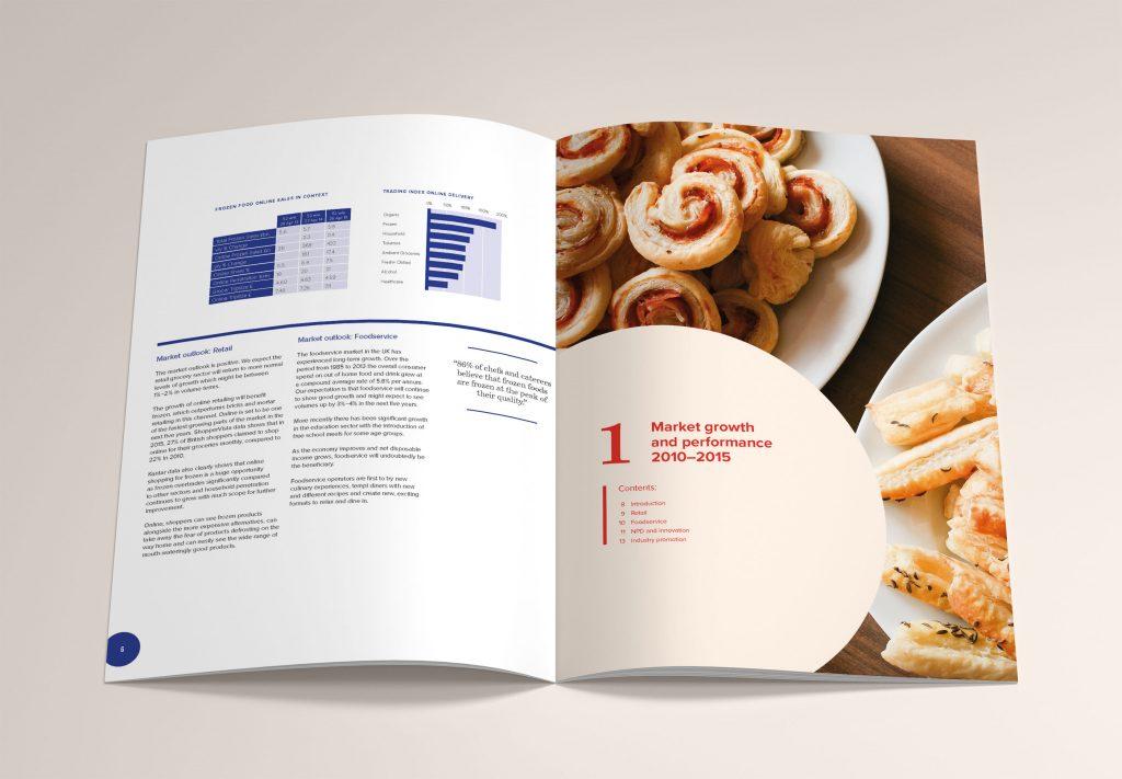 A Market Growth Brochure Mock-up