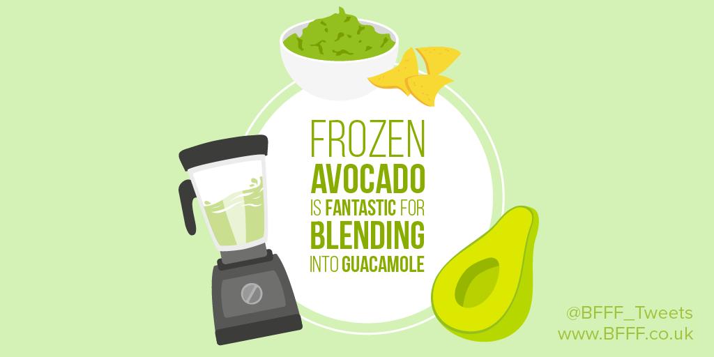 A Frozen Food Shortcut Based On Avocado