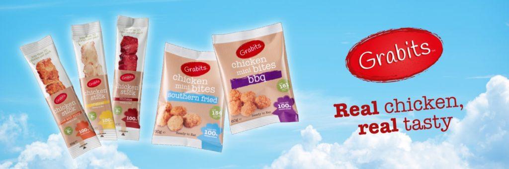 Twitter Header Image For Grabits Chicken