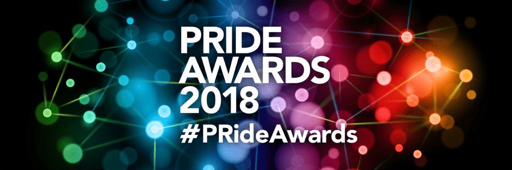 The Pride Awards 2018 Logo Banner