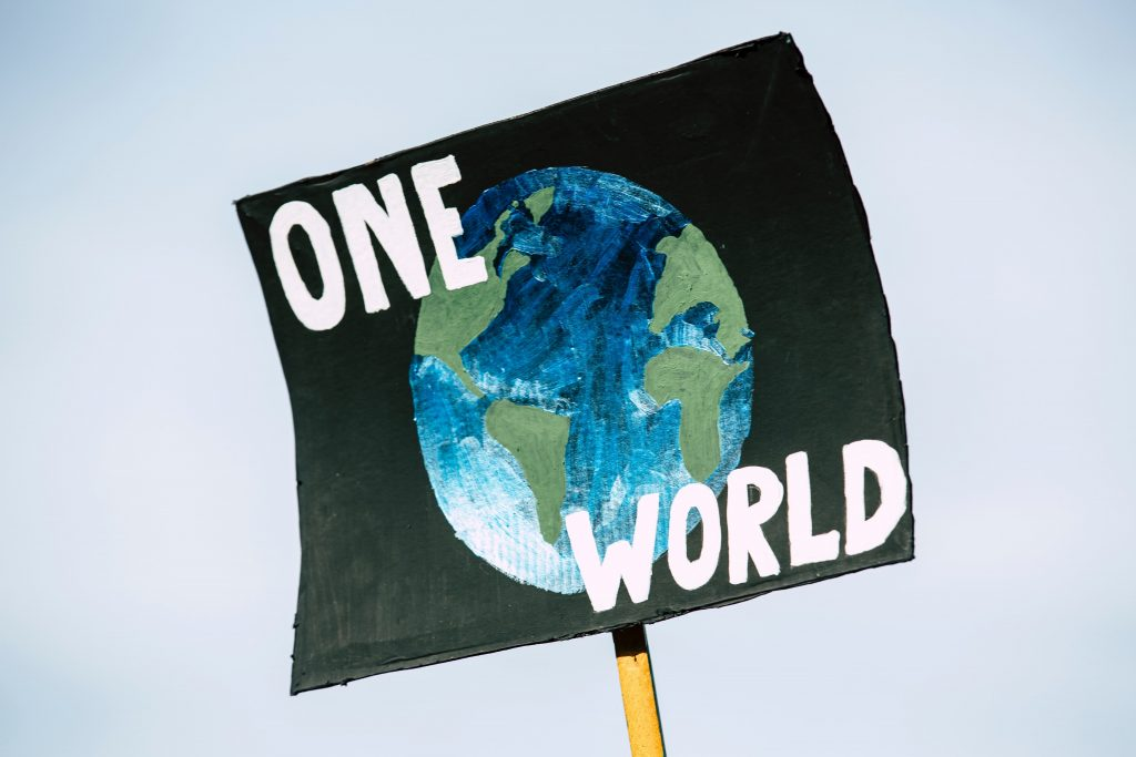 ONe world posrer