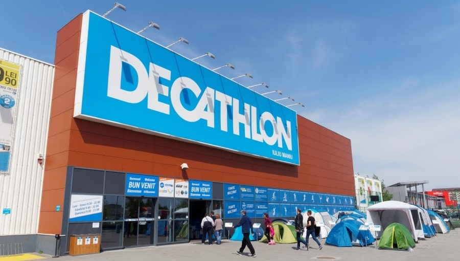 The Outside Of A Decathlon Store