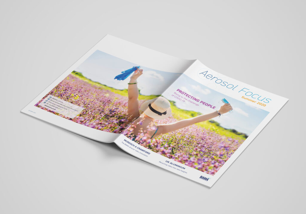 BAMA Aerosol Focus newsletter