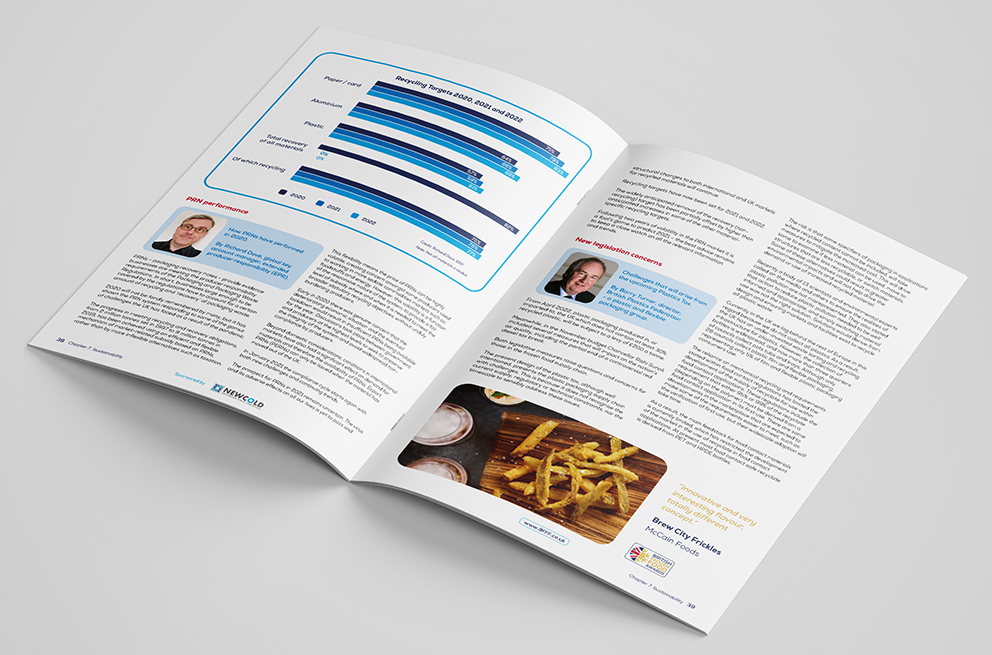 A Sustainability Brochure Mock Up